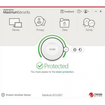 Antivírus - Trend Micro Maximum Security