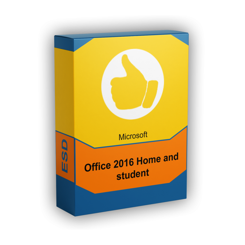 Microsoft Office 2016 Home and Student - elektronická licencia