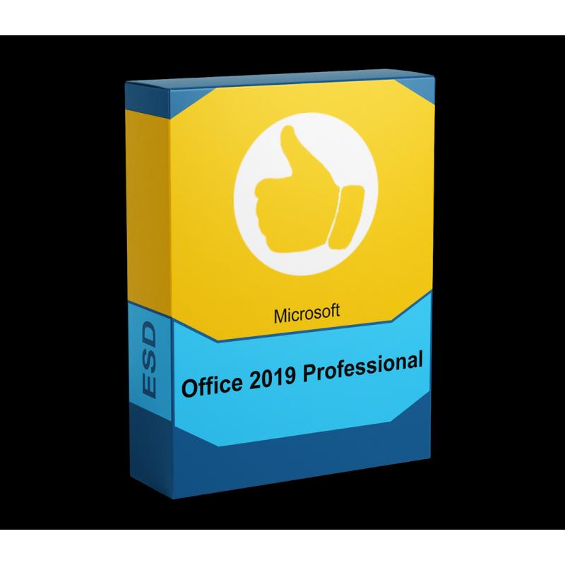 Microsoft Office 2019 Professional - elektronická licencia