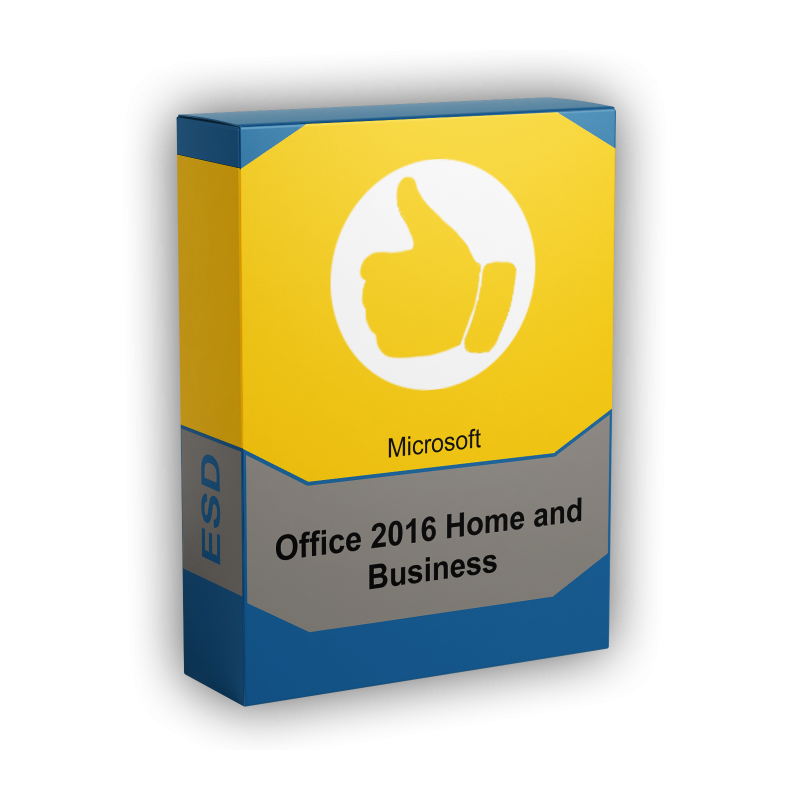 Microsoft Office 2016 Home & Business PC